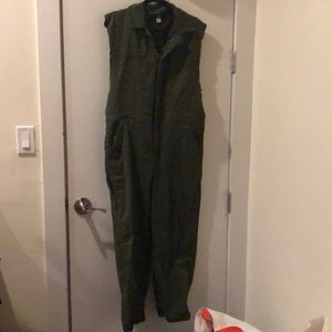 Urban Outfitters Pants - UO Olive Utility Jumpsuit